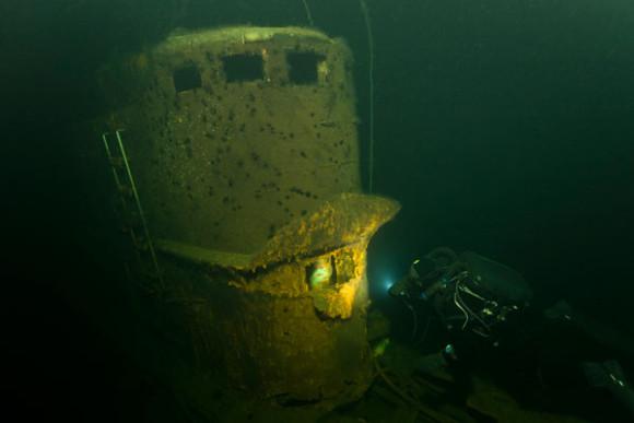 подняли подводную лодку второй мировой