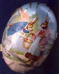 Пасхальное яйцо, фото Северного музея