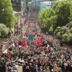 17 мая в Норвегии, фото NRK
