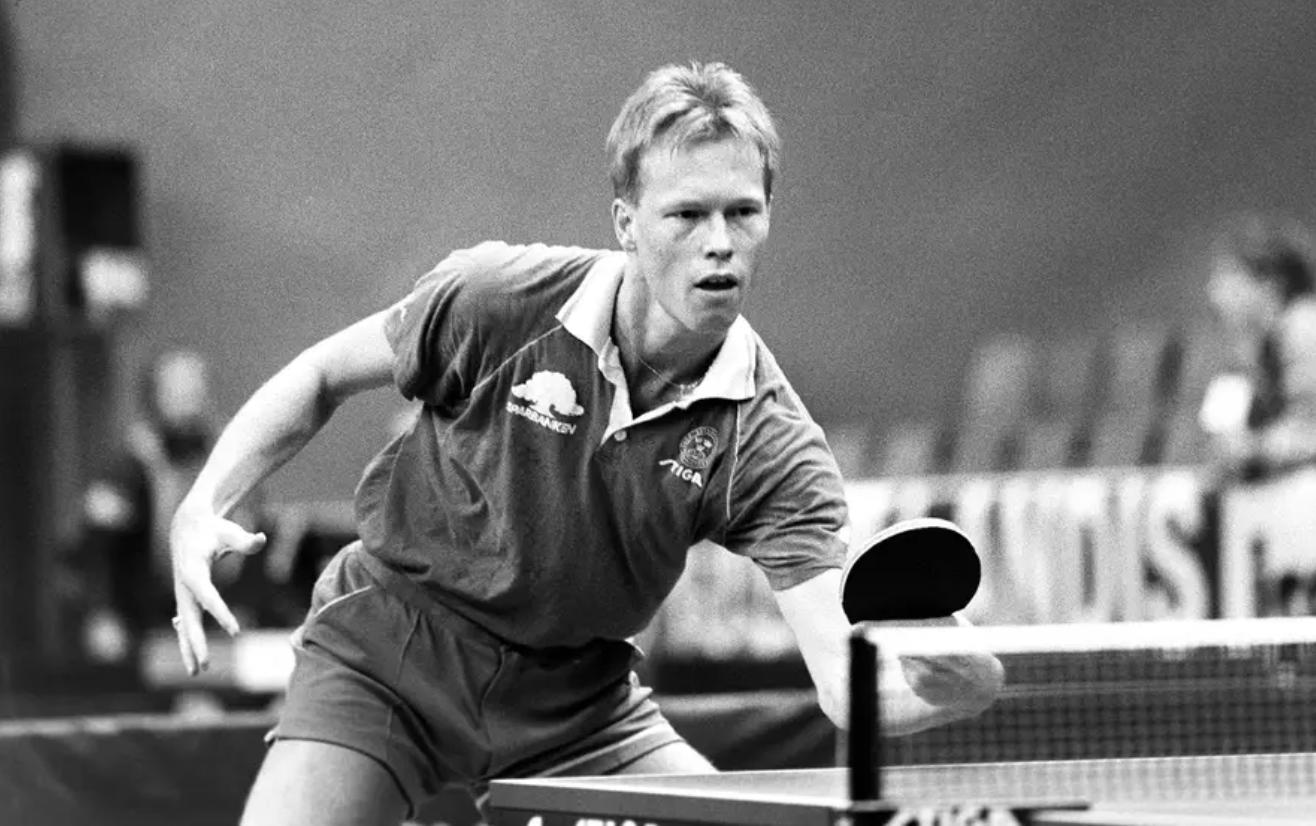 Скончался шведский чемпион по настольному теннису Ульф Бенгтссон