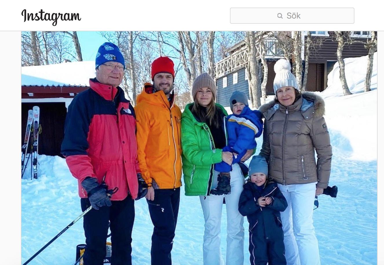 Спортивные каникулы продолжаются в Швеции