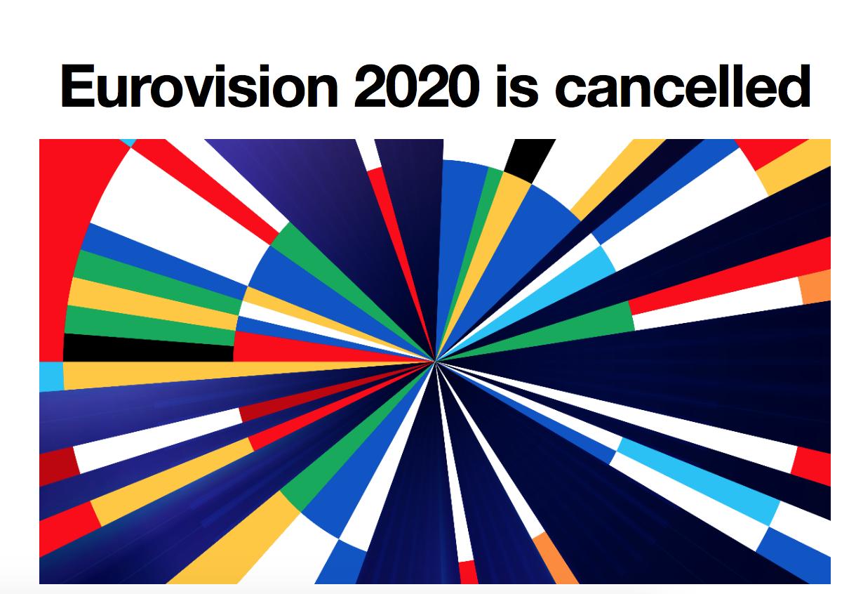 "Конкурс ""Евровидение 2020"" отменен из-за коронавируса"