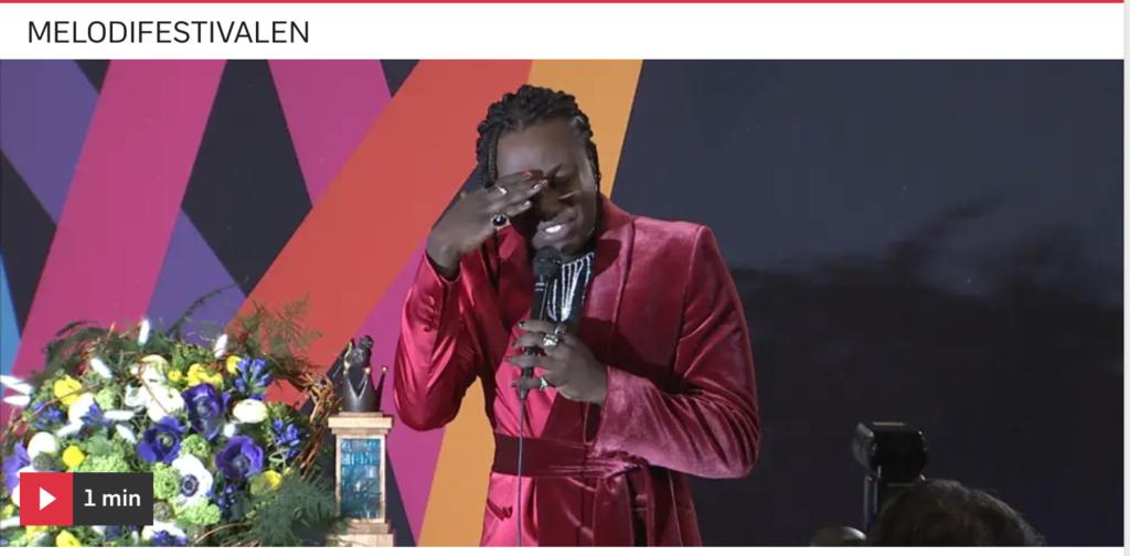 Туссе представит Швецию на конкурсе «Евровидение» в Роттердаме