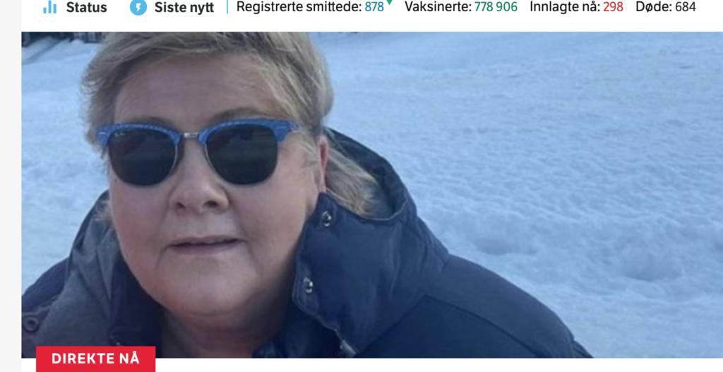 Премьер-министр Норвегии оштрафована за нарушение ограничений из-за COVID-19