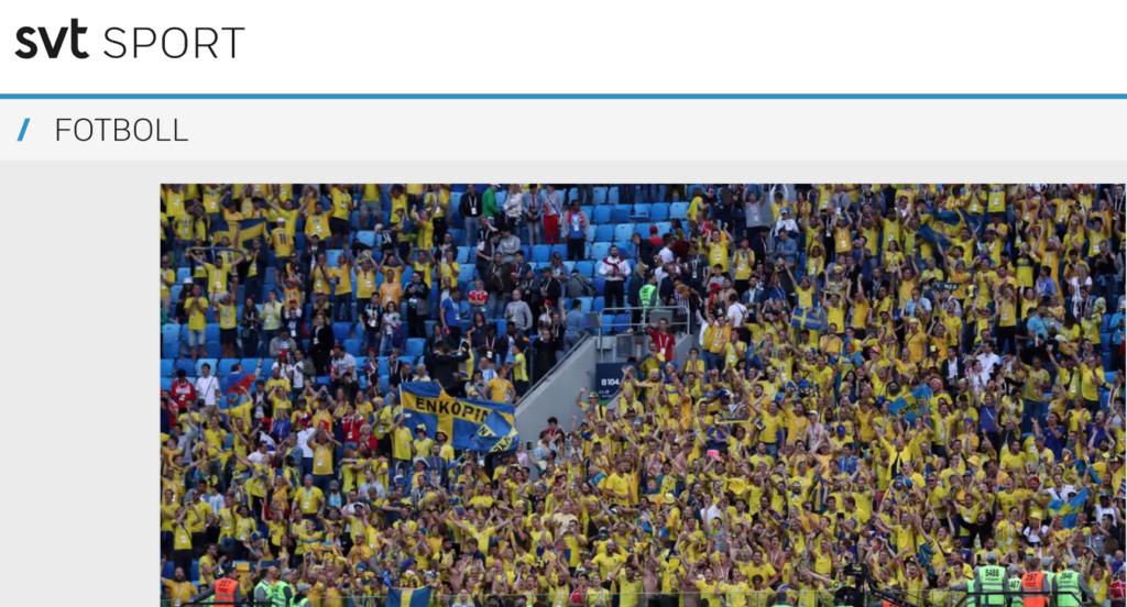 Три тысячи шведских болельщиков поддержат сборную на матчах чемпионата Европы по футболу