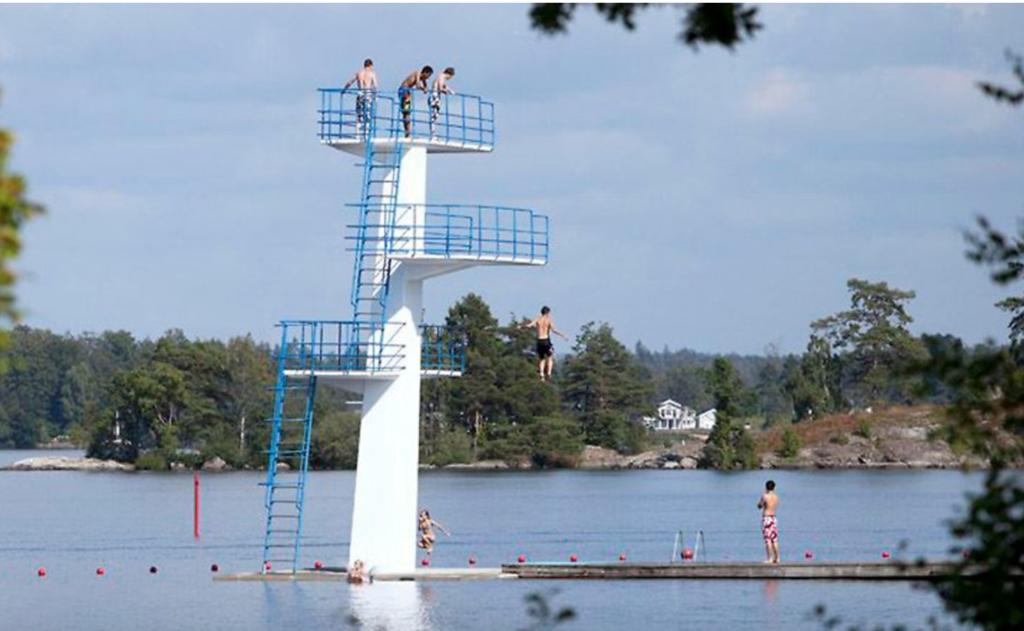 Окрестности города Векшё на юго-востоке Швеции признаны самыми «богатым» на места для купания летом