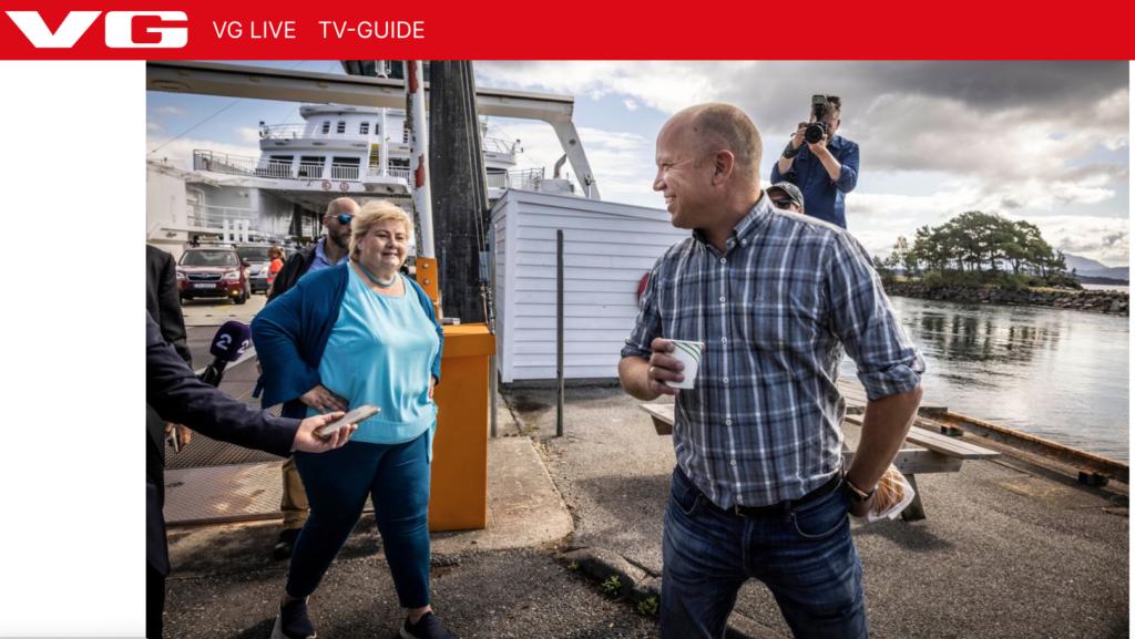 Смену власти в пользу социал-демократов предсказывают предвыборные опросы в Норвегии