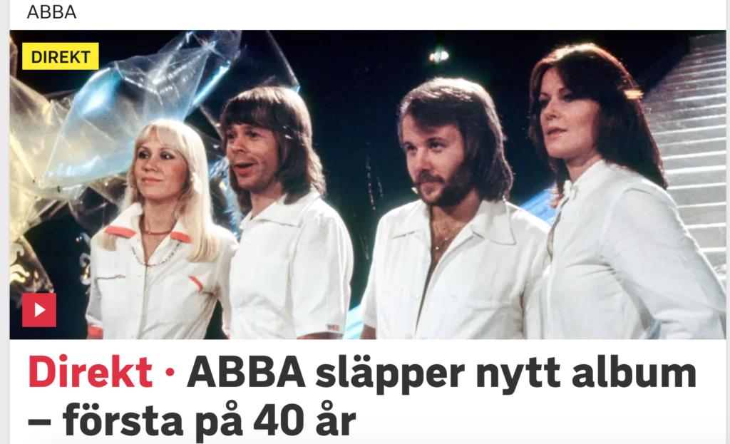 ABBA впервые за 40 лет записала новый альбом